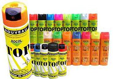 Markeerspray ROCOL TOP a 500 ml Rood ROCOL TOP