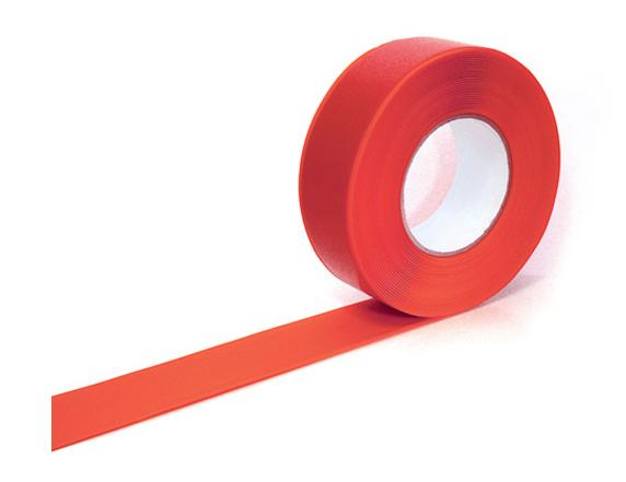 Markering tape rood 50mmx33m Easy Tape