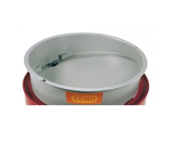 Vultrechter zonder deksel 200 liter vaten Cemo 3342