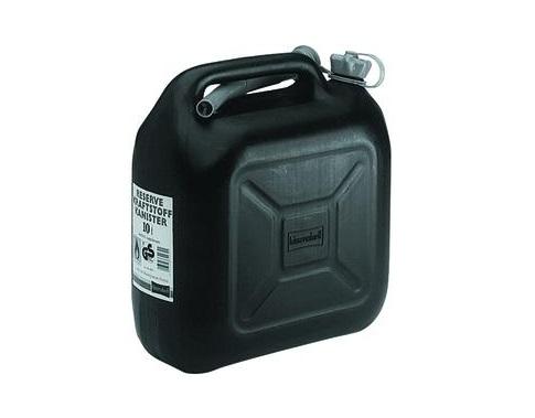 Transport jerrycan 5 liter HD-PE zwart Hünersdorff 811400