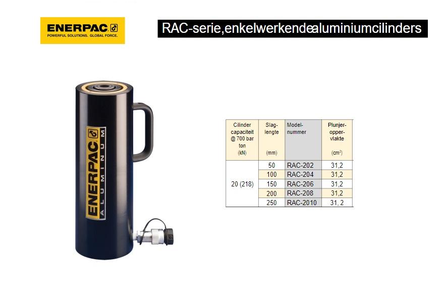 Enerpac RAC2010 enkelwerkende aluminium cilinder