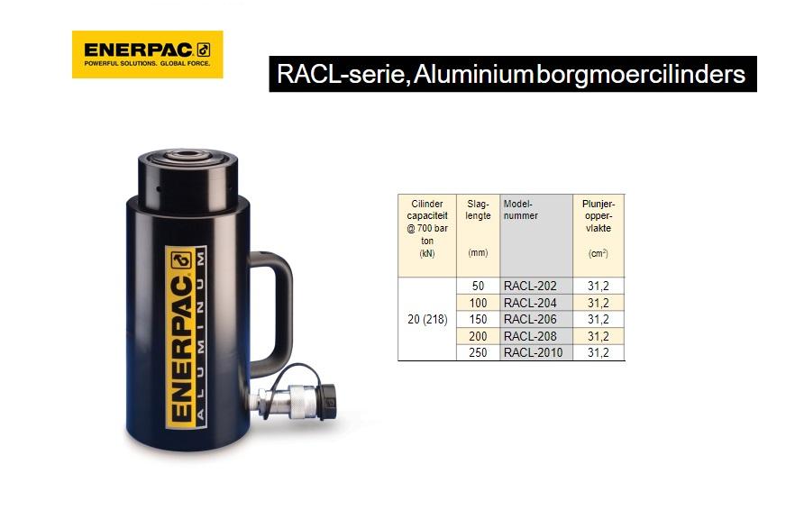 Enerpac RACL202 Aluminium borgmoercilinder