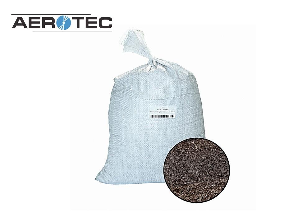 Straalzand 25 kg zak korrelgrootte 0,2 - 0,5 mm