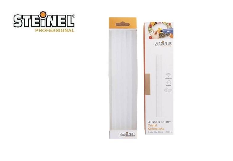 Steinel Cristal Lijmstick 11 mm 250 mm Transparant 20 stuks