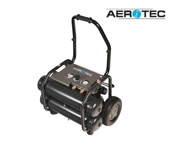 Compressor Aerotec 290-20 315 l/190 l/10 bar/2X11 l/2,2 KW/verrijdbaar/23