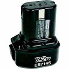 Hitachi EB7B Batterij 7,2V 2000mAh
