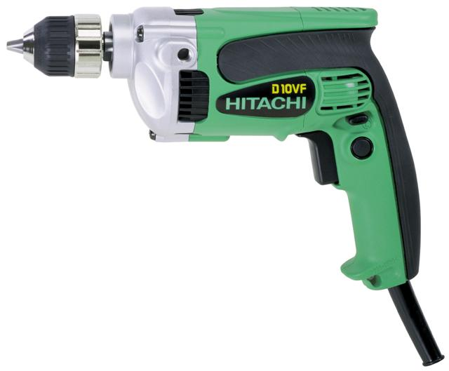 Boormachine D10VF J7 10mm/710W 110V Hitachi 93102965