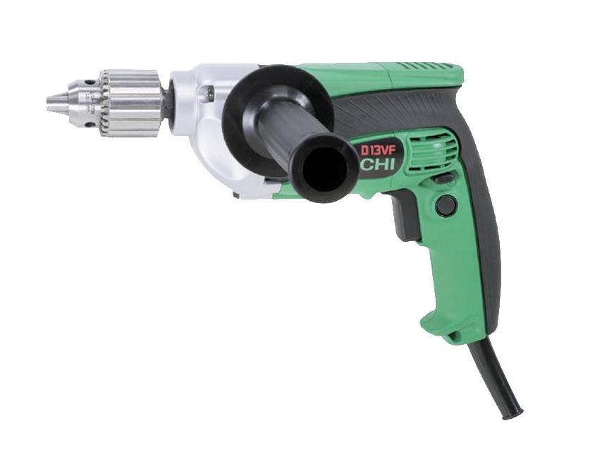 Boormachine D13VF J7 13mm/710W 110V Hitachi 93103645