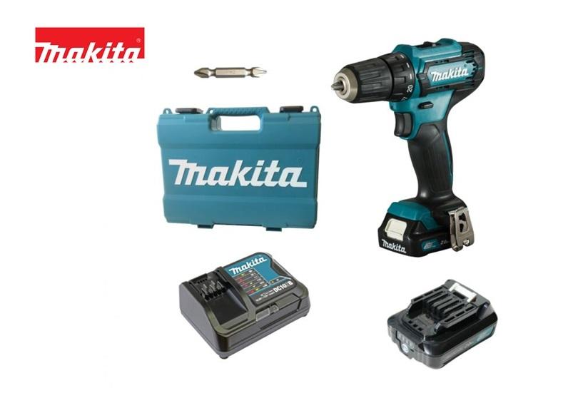 MAKITA DF333DSAE Boor/schroefmachine12V MAX (10,8V) 2.0AH LI-ION schuifac