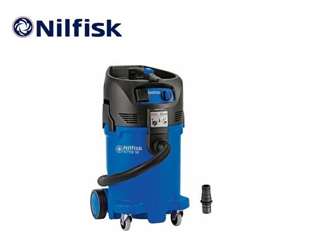 Nilfisk ATTIX 50-21 PC Clean Room nat-droogzuiger