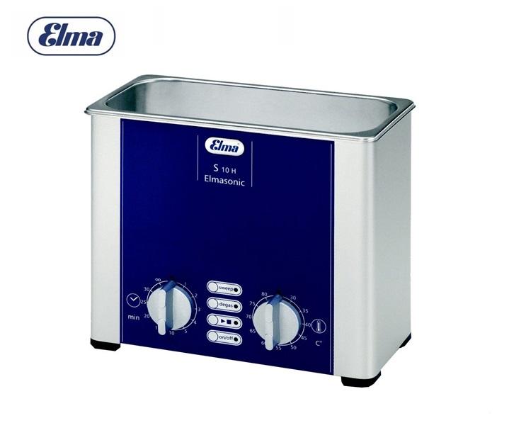 Ultrasone reiniger Elmasonic S10H voor 0,8 liter (220-240 V)