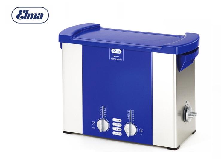 Ultrasone reiniger Elmasonic S60H voor 5,75 liter (220-240 V)