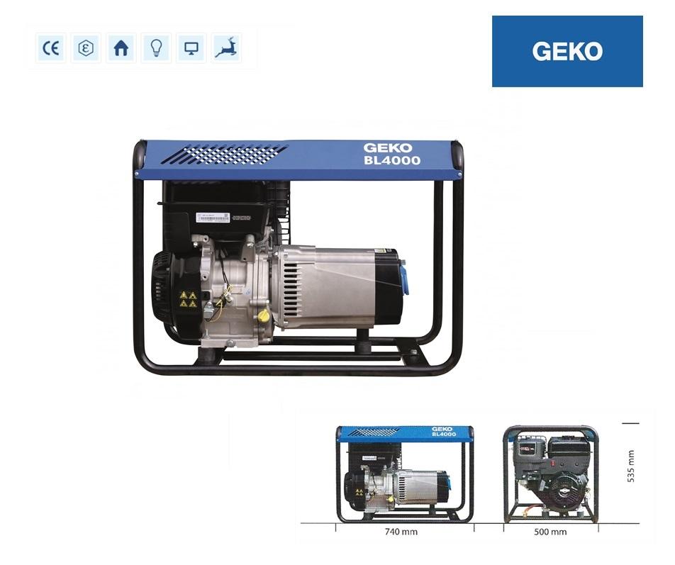 Basic Benzine AggregaatBL4000 E-S/SHBA Geko 986253