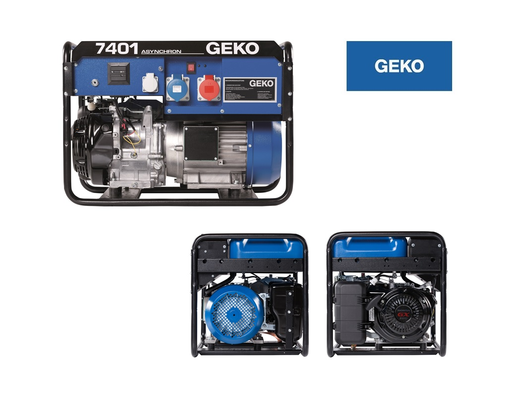 Professional Benzine Aggregaat 7401 ED-AA/HHBA Geko 986551