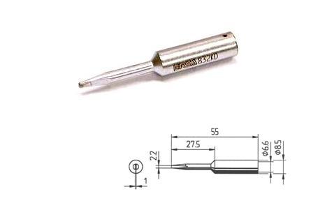 Ersa 832 KD LF Soldeerpunt Beitelvorm 2,2mm ERSA 832 KD LF