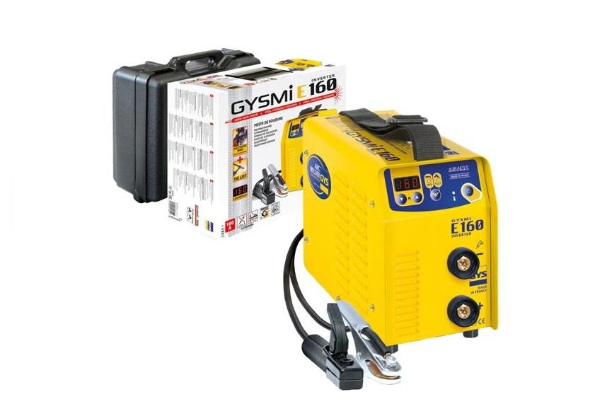 Elektroden-lasapparaat GYSMI E160 10 - 160 A. 230/50/60V/Hz 4,6kg