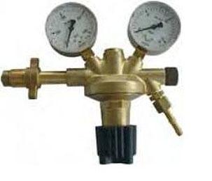 Reduceerventiel Stikstof N2 300 / 10 bar W 30 x 2 DIN 477-5 G 1/4 x DN 6