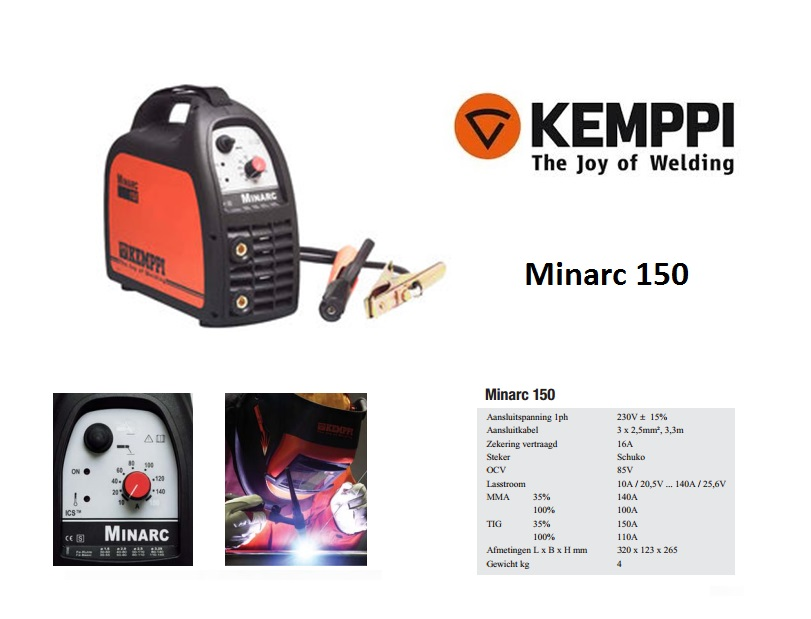 Kemppi Minarc 150