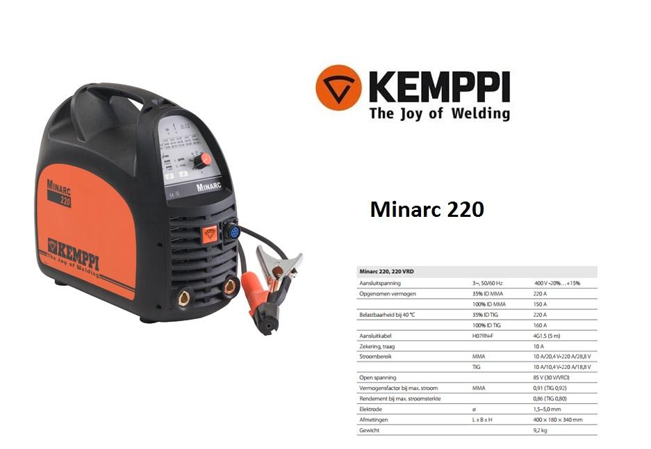 Kemppi Minarc 220