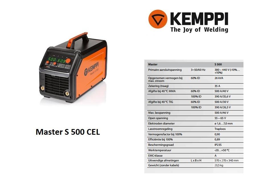 Kemppi Master S 500