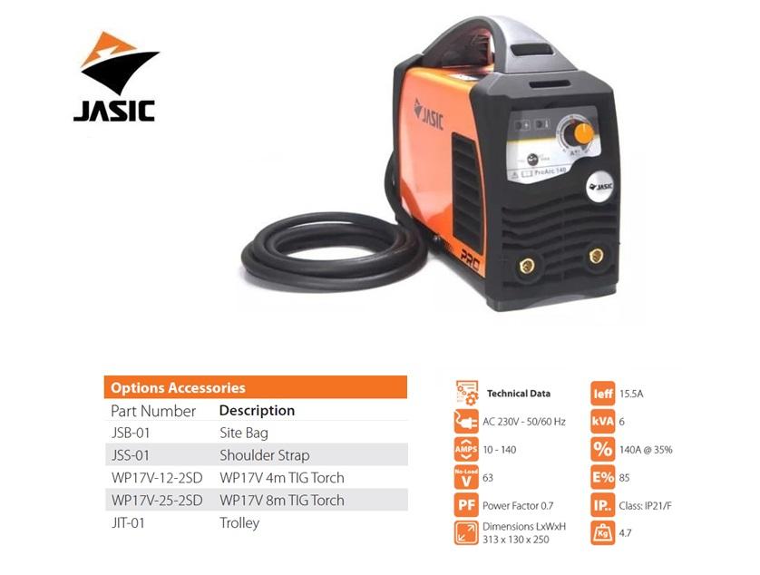 Jasic Pro ARC 140 Inverter 230V