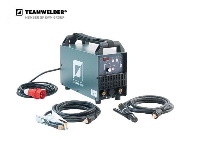 Elektroden-lasapparaat MMA 300 cel Set 10 - 300 A 3 x 400 V 16,5 kg Teamwelder