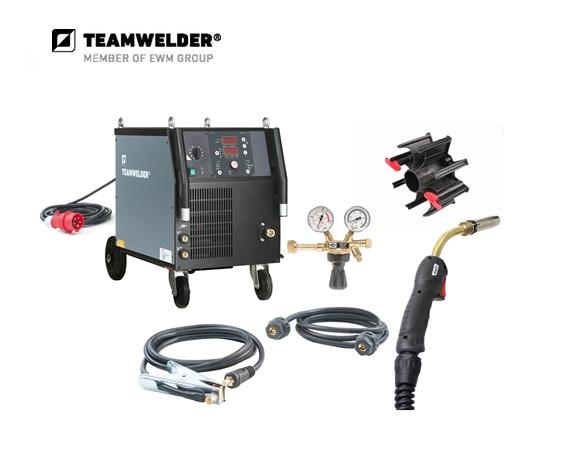 MIG/MAG-lasapparaat MIG 302 S Synergic Set 30 - 300 A 3 x 400 V