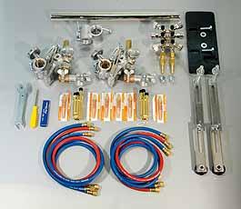 Koike Brander set SP-200 voor het snijden van I, V, Y, X laskanten Koike 90039