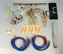 Koike Brander set SP-300 voor het snijden van I, V, Y en X laskanten Koike 90040