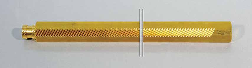 Koike Tandheugel (250 mm lengte) voor verlenging van Z-as Koike 30430