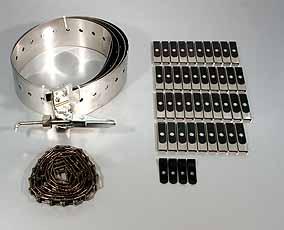 Koike Geleiderail D-1200,voor pijpdiameter 900- 1200 mmvoor Picle-S/-P Koike 90108