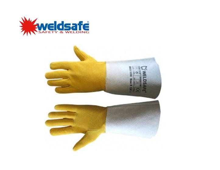 Weldsafe TIG handschoen Deerskin, maat 8 (S) VE 120
