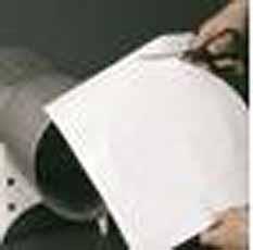 Wateroplosbaar papier 100 Vellen 216x280mm