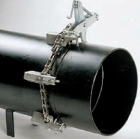 Enkelvoudige kettingklem staal. 5-12