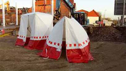 Werk tent POP UP Punt PK 180 1800 x 1700 x 1650 mm