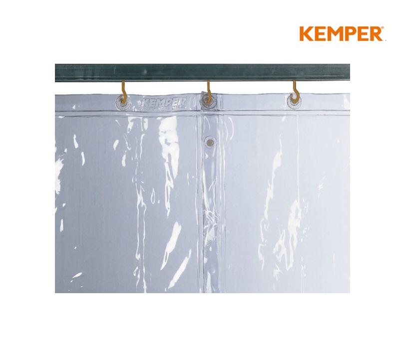 Kemper Lasgordijn, S0, glashelder H1800xB1300mm