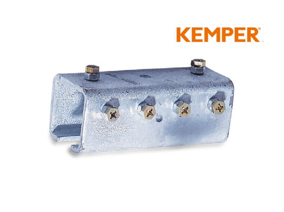 Railverbinder 40x40x2, 5mm, verzinkt, voor C-profiel