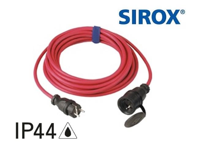 Verlengkabel 10 mtr H07RN-F 3G 1,5 mm² met deksel aan het band