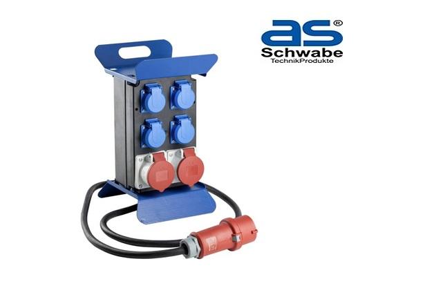 Schwabe CEE Stroomverdeler Stecky 1 400V 5-polig