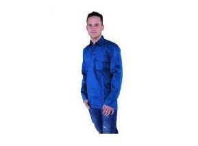 Lassers Overhemd katoen 245 G | DKMTools - DKM Tools