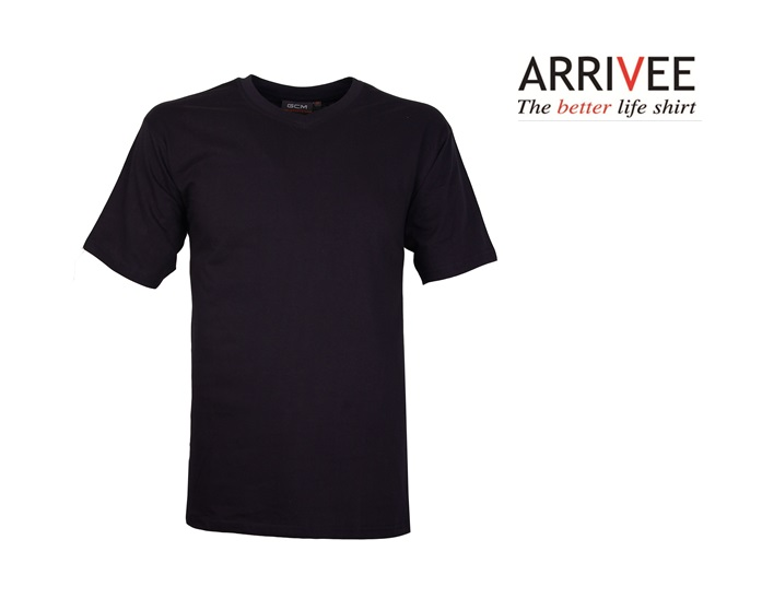 Basic T shirt Navy V Nek | DKMTools - DKM Tools