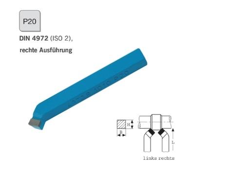 Gebogen ruwbeitel DIN 4972 rechts P20 | DKMTools - DKM Tools