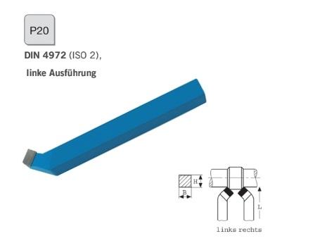 Gebogen ruwbeitel DIN 4972 Links P20 | DKMTools - DKM Tools