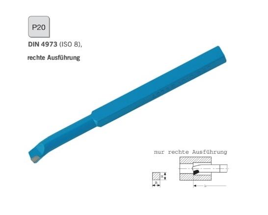 Binnendraaibeitel DIN 4973 rechts P20 | DKMTools - DKM Tools