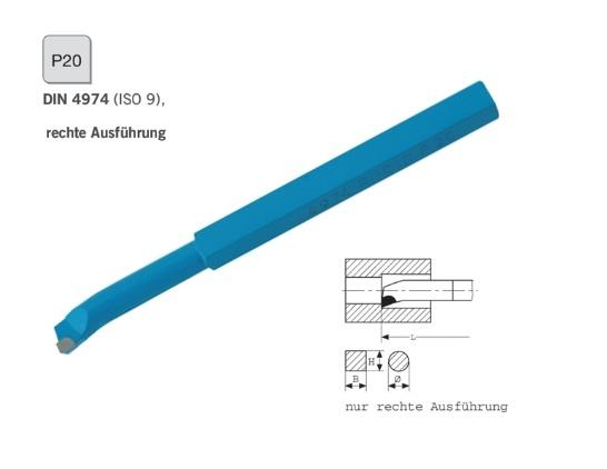 Blindboorbeitel DIN 4974 rechts P20 | DKMTools - DKM Tools