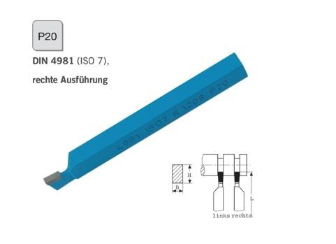 Afsteekbeitel DIN 4981 rechts P20 | DKMTools - DKM Tools