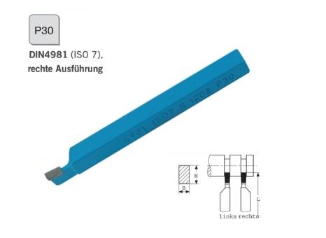 Afsteekbeitel DIN 4981 rechts P30 | DKMTools - DKM Tools