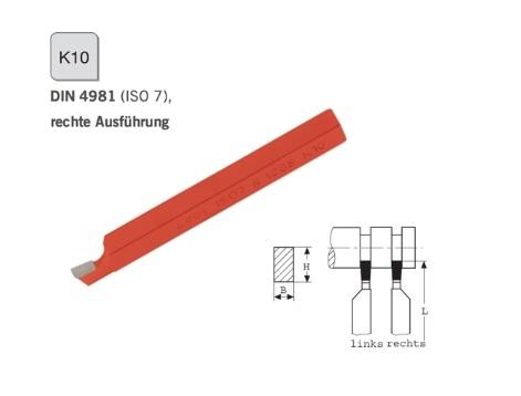 Afsteekbeitel DIN 4981 rechts K10 | DKMTools - DKM Tools