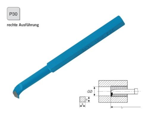 Binnendraadbeitel DIN 283 rechts P30 | DKMTools - DKM Tools