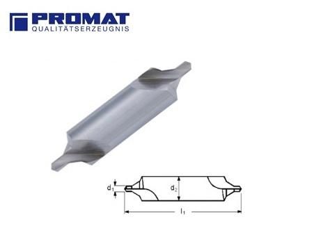 Centreerboor DIN 333. Form B HSS promat | DKMTools - DKM Tools